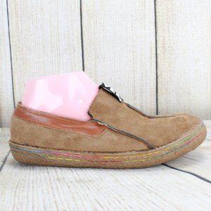 EVOLVE Slip-ion Rainbow Stitched Shoes Size 7